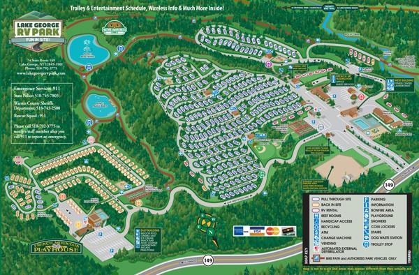 Lake George RV Park - Lake George, NY - RV Parks