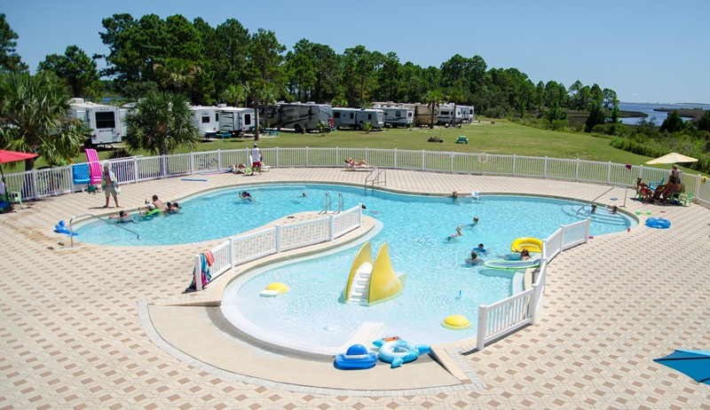Sunset Isle RV & Yacht Club - Carrabelle, Fl - RV Parks