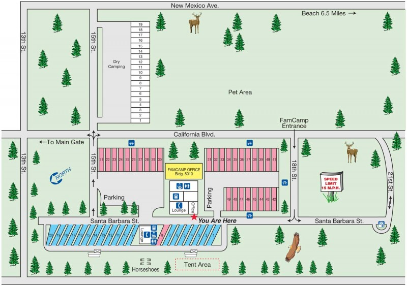 Vandenberg AFB FamCamp - Vandenberg AFB, CA - RV Parks