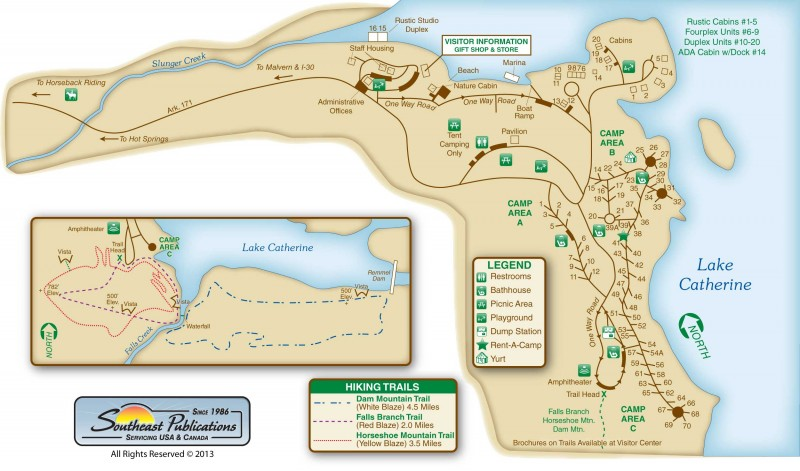 State Parks In Arkansas Map.Lake Catherine State Park Hot Springs Ar Arkansas State Parks
