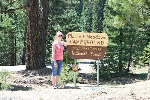 Plaskett Meadows Campground Mendocino National Forest