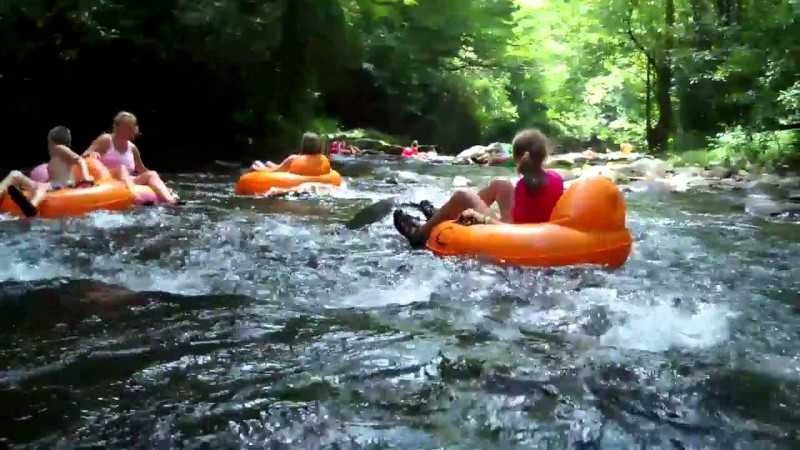 Deep Creek Tube Center And Campground Bryson City Nc