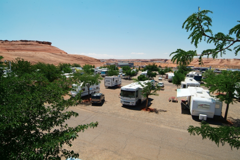 Page Lake Powell Campground - Page, AZ - RV Parks