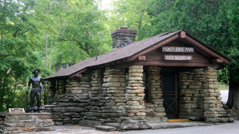 Superieur Pickett CCC Memorial State Park   Jamestown, TN   Tennessee State Parks