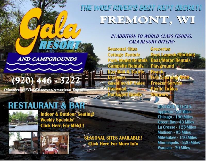 Gala Resort & Campground - Fremont, WI - RV Parks - RVPoints com