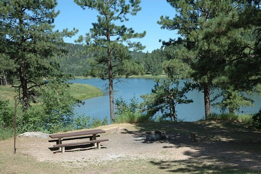 Cook lake recreation area black hills national forest for Pactola lake cabins