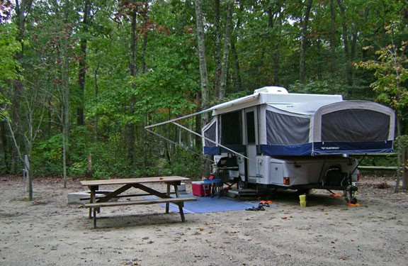 Seashore Campsites Amp Rv Resort Cape May Nj Sun