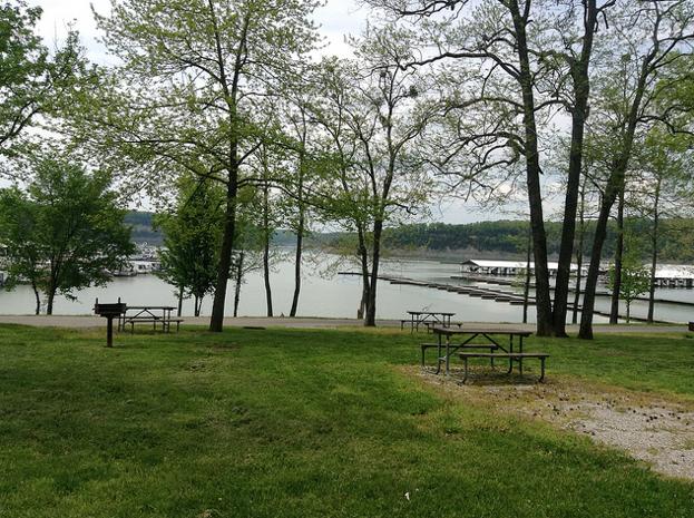 Conley Bottom Resort located on Lake Cumberland in