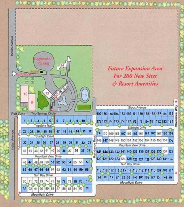 Two Springs Rv Resort - North Palm Spgs, CA - RV Parks