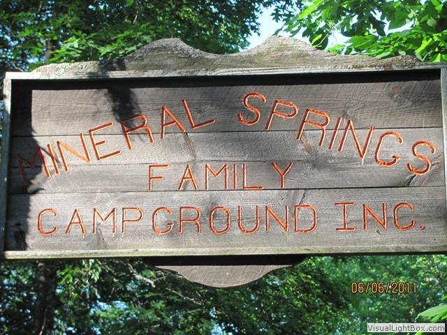 Mineral Springs Family Campground - Stafford Springs, CT - RV Parks