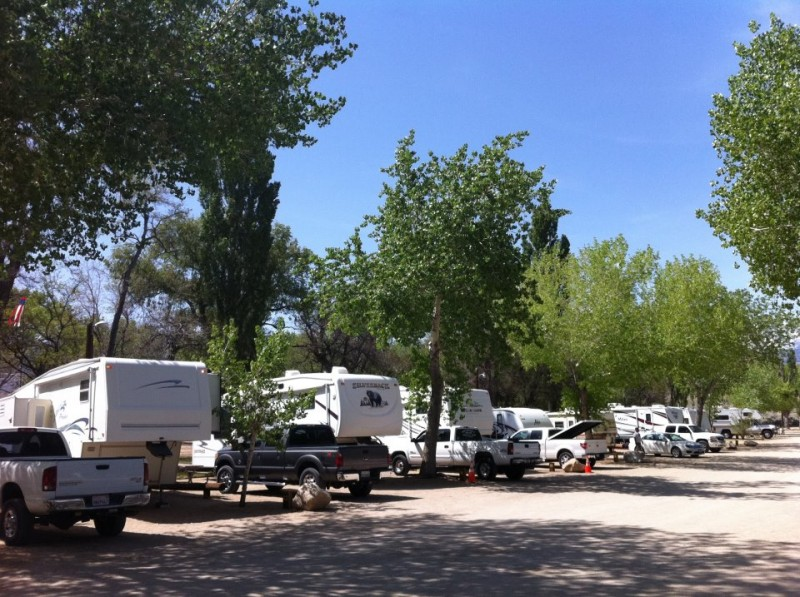 Brown's Millpond Campground - Bishop, CA - RV Parks