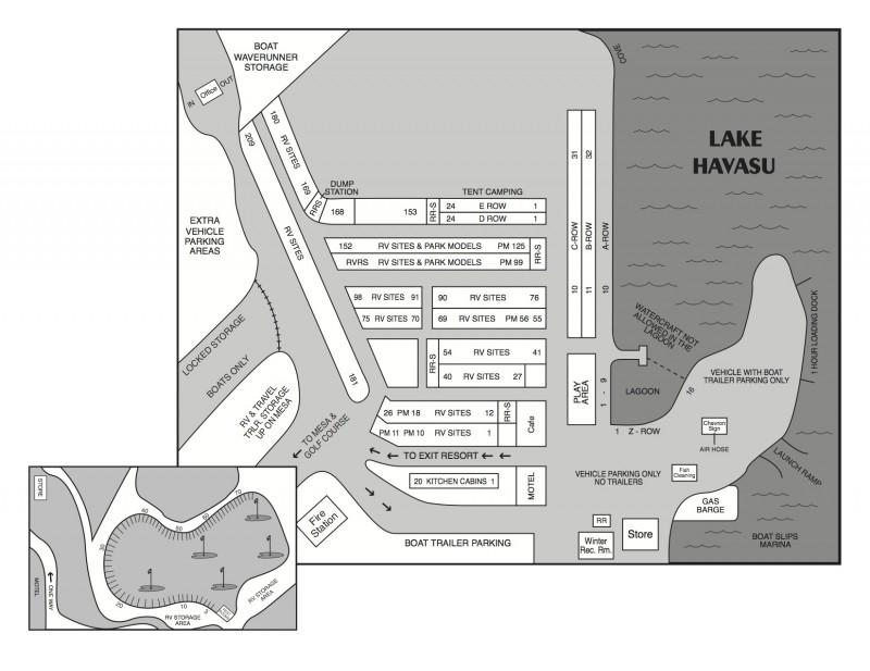 Black Meadow Landing - Parker Dam, CA - RV Parks
