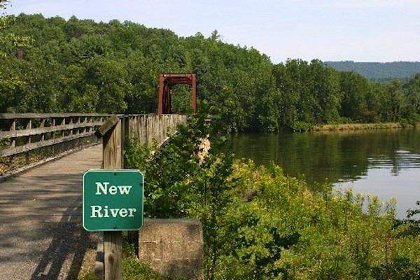 New River Trail State Park Foster Falls Va Virginia