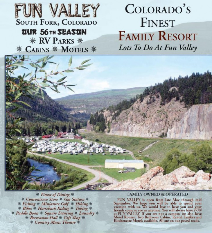 Fun Valley Family Resort South Fork Co Rv Parks