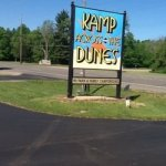 Kamp Across From The Dunes - Sawyer, MI - RV Parks