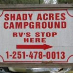 Shady Acres Campground - Mobile, AL - RV Parks