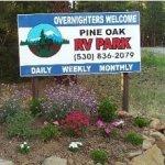 Pine Oak RV Park - Cromberg, CA - RV Parks