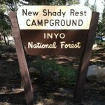 New Shady Rest Campgrounds - Mammoth Lakes, CA - RV Parks