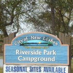 Riverside Park Campground - New Lisbon, WI - RV Parks