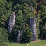 Natural Chimneys Regional Park - Mt. Solon, VA - RV Parks