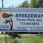 Breezeway Trailer Park - Micco, FL - RV Parks