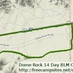 Dome Rock Mountain BLM - Quartzsite, AZ - Free Camping