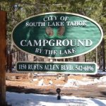 Campground By The Lake - South Lake Tahoe, CA - National Parks