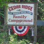 Cedar Ridge Campground - Montague, NJ - RV Parks