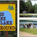 Hiles Pine Lake Campground - Argonne, WI - RV Parks