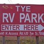 Tye RV Park - Tye, TX - RV Parks