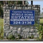 Cypress Gardens Mobile Home & RV Park - Winter Haven, FL - RV Parks