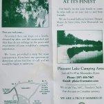 Pleasant Lake Camping Area - Alexander, ME - RV Parks