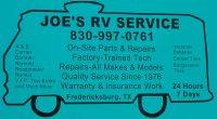 JOE'S RV SERVICE - FREDERICKSBURG - Fredericksburg, TX - Services