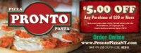Pronto Pizza Coupons Staten Island - Staten Island, NY - Restaurants