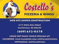 COSTELLO'S PIZZERIA & WINGS - Smitville - Smithville, NJ - Restaurants