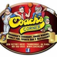 Coach's Corner - Savannah, GA - Restaurants