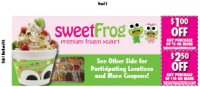 Sweet Frog - Corporate* - Charles Town, WV - Restaurants