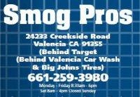 Smog Pros - Valencia, CA - Automotive