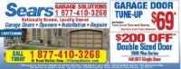 Sears Garage Door Sales and Repairs Sacramento - Sacramento, CA - Home & Garden