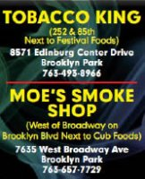Tobacco King/Moe's Smoke Shop - Brooklyn Pk, MN - Stores