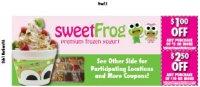 Sweet Frog - Corporate* - Fredericksburg, VA - Restaurants