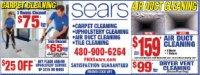 Sears Carpet Cleaning  - Phoenix - Phoenix, AZ - MISC