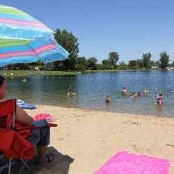 Haas Lake Park Campground - New Hudson, MI - RV Parks
