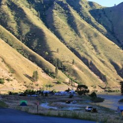 Shorts Bar Recreation Site - Riggins, ID - Free Camping