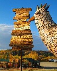 Chicken Gold Camp - Chicken, AK - RV Parks