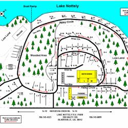 Lake Nottely RV Park Office - Blairsville, GA - RV Parks