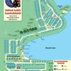 Indian Lakes Campground & Cabins - Wolcottville, IN - RV Parks
