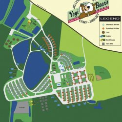 Tabor City Nc Map.Yogi Bear S Jellystone Park At Daddy Joe S Tabor City Nc Yogi