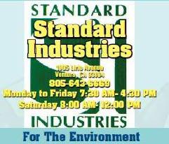 Standard Industries - Ventura, CA - Professional