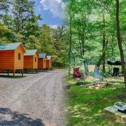 Pigeon River Campground - Hartford, TN - RV Parks